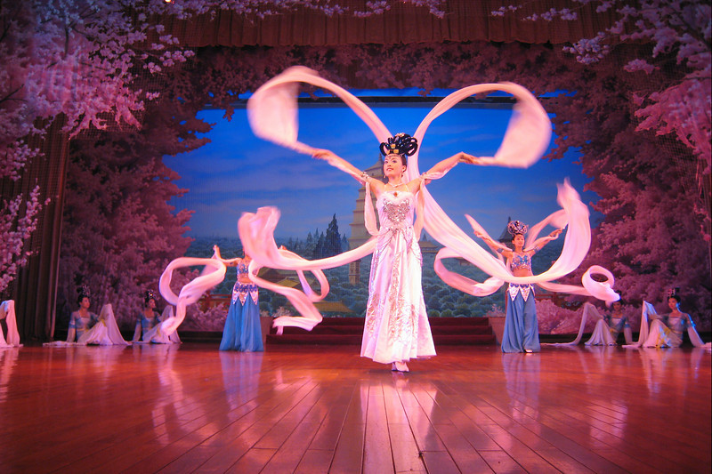 "The tour of Beijing included a couple of shows with ""cultural"" performances."