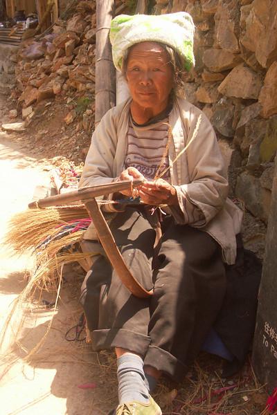 A straw worker.