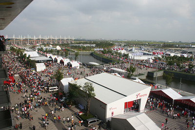 2007 Chinese F1 qualifying 10-06