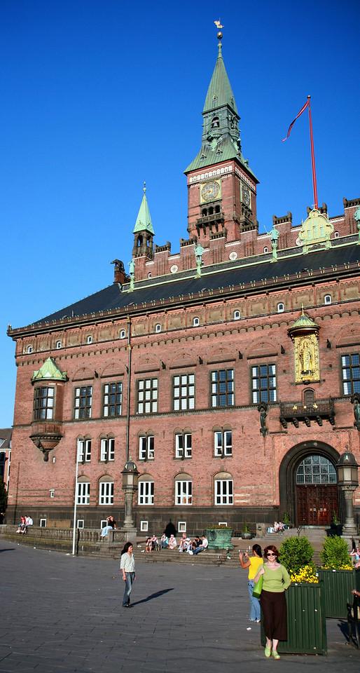 Copenhag- Main square
