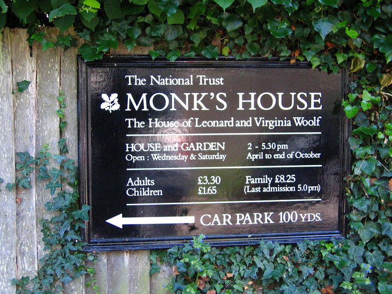 Monks House - Virginia Wolf's home