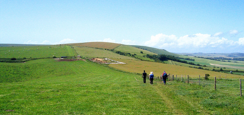 Hiking the South Downs way