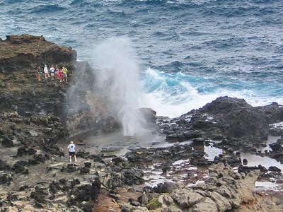 15 - northwest Maui blowhole