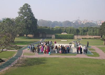 Taj Ghat Gandi monument