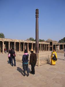 Hindoe tempel 500 jaar geleden afgebroken door moslims