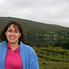 Tired, and it was raining...but we were in Ireland