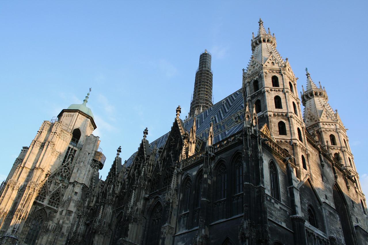 Friday, May 18, Vienna, Austria<br /> Stephansdom (oldest church in Vienna)