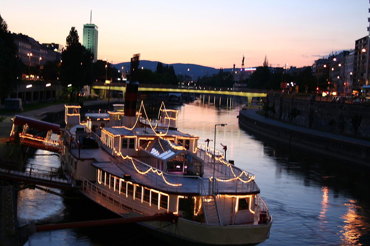 Friday, May 18, Vienna, Austria<br /> Danube Canal