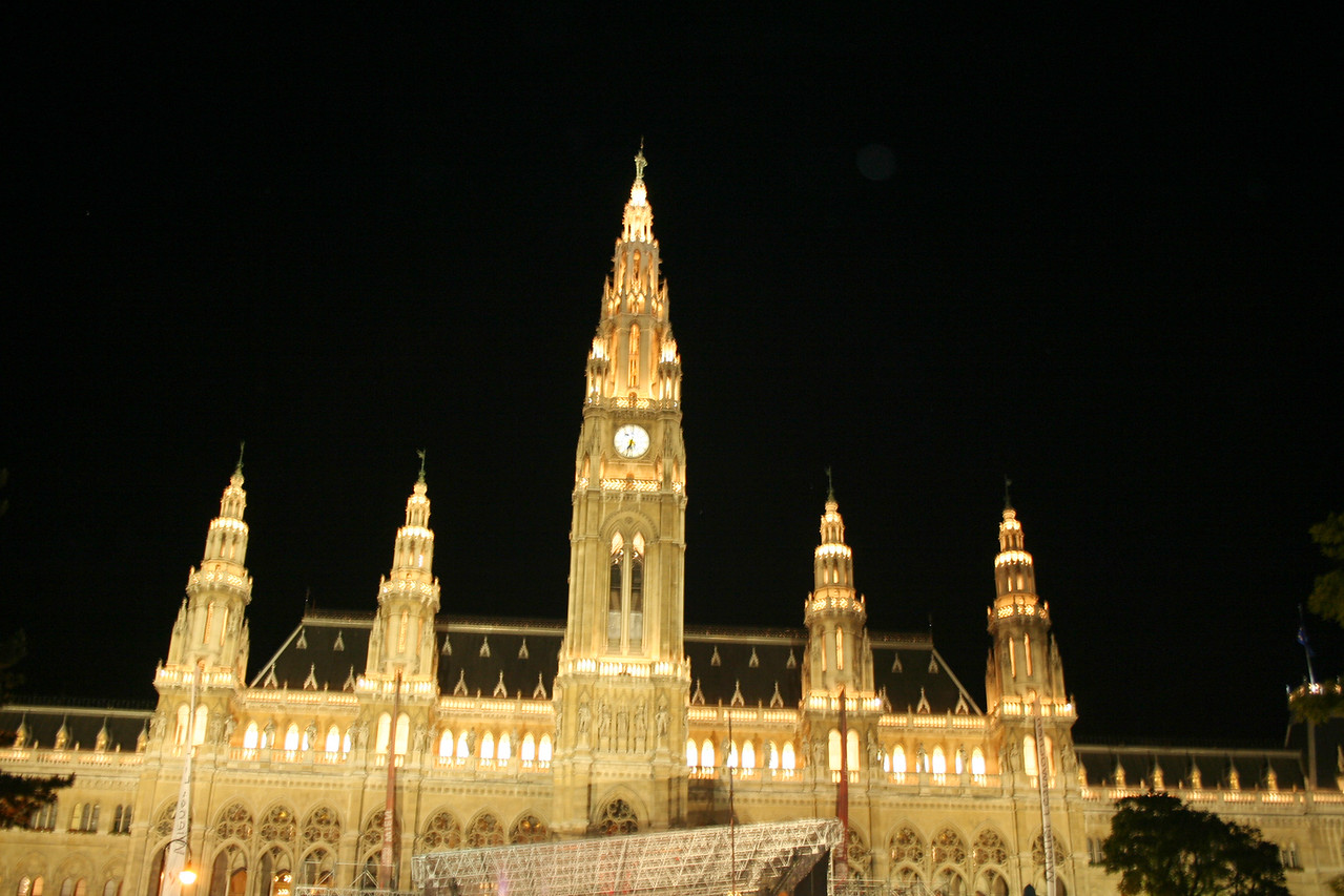 Friday, May 18, Vienna, Austria<br /> Neves Rathaus, town hall