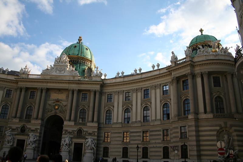Friday, May 18, Vienna, Austria<br /> Former royal palace;  Neve Burg