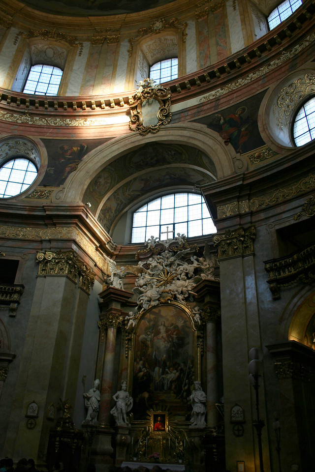 Friday, May 18, Vienna, Austria<br /> Inside St. Peter's Church
