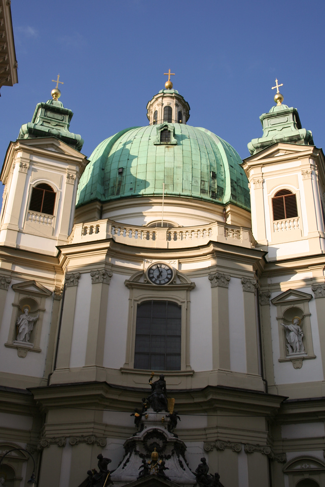 Friday, May 18, Vienna, Austria<br /> St. Peter's Church there was an organ concert while we were there.