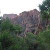 Morning view at Bright Angel camp