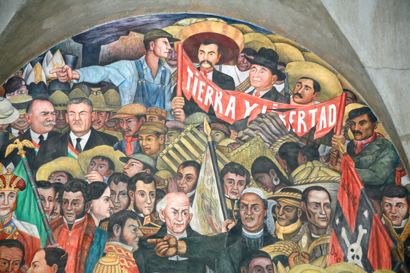 Secretaria de Educacion Publica- over 200 murals by Rivera