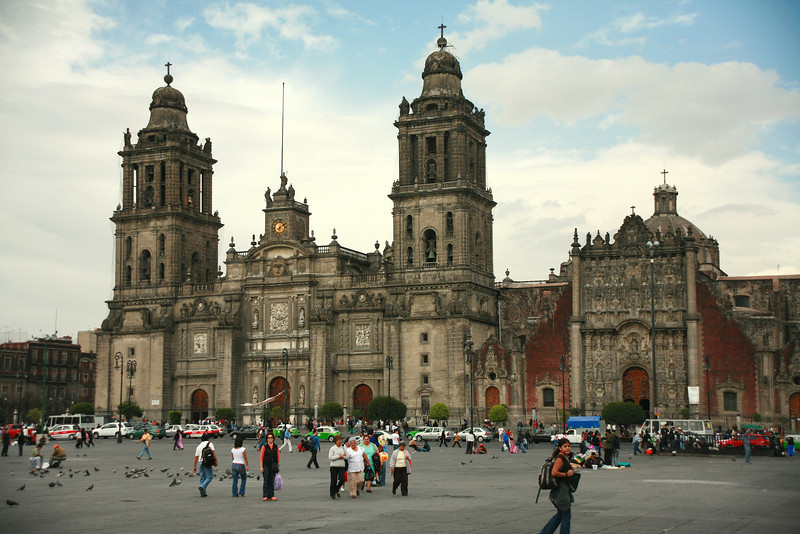 The Zocola - center square of Mexico City