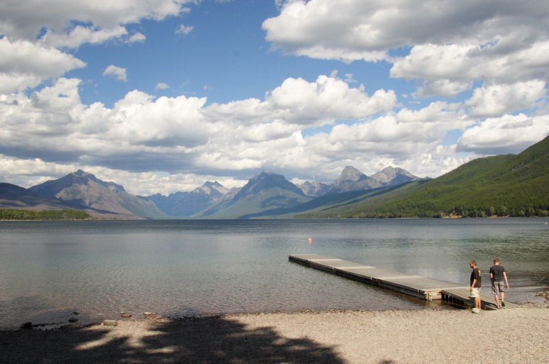 Lake McDonald in Glacier NP.