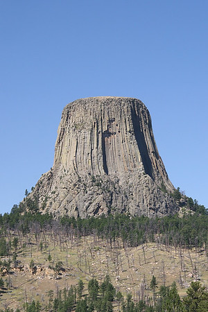 "Devil's Tower National Monument in Wyoming. Do you remember the movie ""Close encounters of the third kind?"
