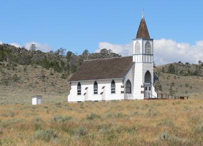 Lennep, MT Lutheran Church built in 1914.