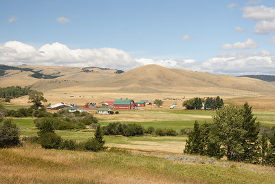 Ranch outside of Lennep MT.