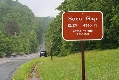 7420 Soco Gap sign