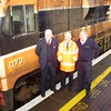 Ballina staff, Guard Noel Enright, Station Manager Pat Hopkins & Driver Dessie Gallagher. Sat 09.12.06