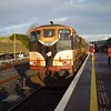 073 at Ballina with the 1300 to Manulla Jctn. Sat 09.12.06