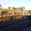 074 stabled on the Norfolk Liner alongside 073 at Ballina. Sat 09.12.06