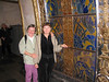 Joining us on this adventure was our good friend Shirley Hoffman from Florida.  Shirley and her husband, Les, have traveled with us to Egypt and to India.  Unfortunately Les had some last minute health issues and had to stay home, but he sent Shirley to keep us in line.  <br /> <br /> At this subway stop we encountered stained glass art.