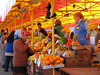 Kostroma had a colorful and bustling open air market.