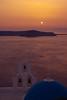 Sunset at Ag. Theodori Church, Firostefani, Santorini Island