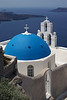 The popular Ag. Theodori church, Firostefani, Santorini Island