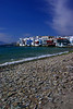 Stunning-looking beach of Mykonos Island