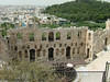 Odeon, an ancient amphitheatre--still used.  It dates back to the Roman period (160 A.D.)