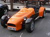 """This roadster was at the hotel/restaurant at the base of the hill-climbing trail.  Lots of Brits love to have or develop their own """"roadster"""", such as my friend Mike Oldfield (""""Moldy"""") in Malvern."""