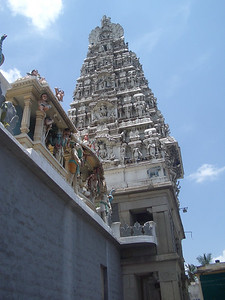 Another major temple in Bangalore. India. Bangalore.