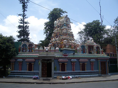Another temple. Bangalore has over 1,000 temples. India. Bangalore.
