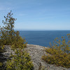 This short hike rims Lake Huron and allows access to some very nice scenic outlook points. (Devil's Monument Loop Main Trail)