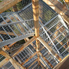 Interesting pattern on the structure of the observation tower.