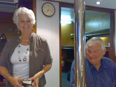 Ellen and Matt from the USA (who each achieved their 1,500th dive during the trip)  - well done!
