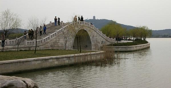 Wuxi Lake Tai bridge, 03-17-07