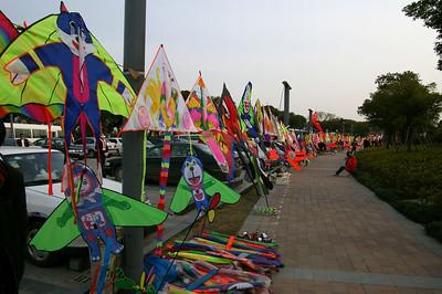 Wuxi Lake Tai kites, 03-17-07
