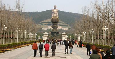 Wuxi Lingshan Buddha 04, 03-17-07