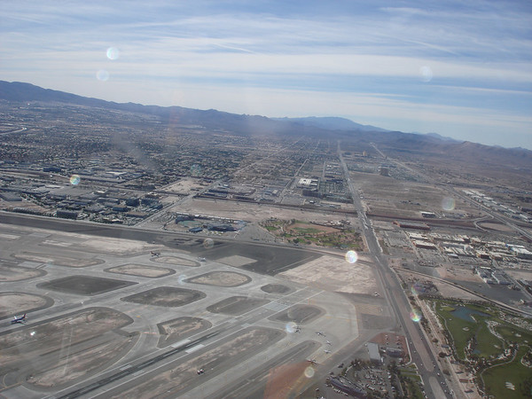Las Vegas airport.