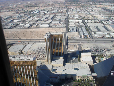 "This is Mandalay Bay Resort and Casino. I stayed in ""THEhotel"" which is the L-shaped building in the middle."