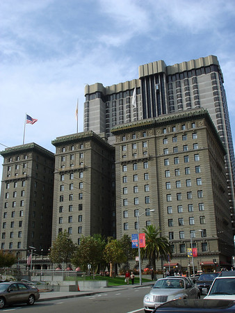 The Westin St Francis hotel where I was staying...very nice...