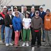 front: Jim Alpaugh, Peggy Lausen, Cricket Andrews, Adam Carrier, Peter Erickson; back: George Wahl, Bryan Alpaugh, Dwaine Voas, Ardus Schwartz, Richard Trainer