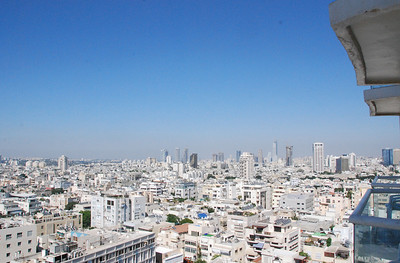 Tel Aviv from our hotel.