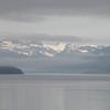 Dawn fog over Glacier Bay