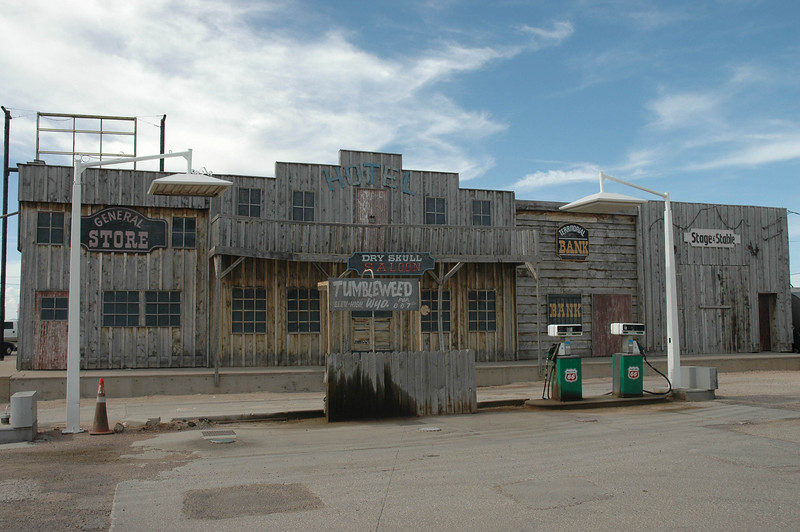 This picture was taken from the gas station we stopped at in Laramie, Wyoming.