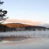 Early morning scene of Otsego Lake